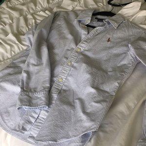 Ralph Lauren classic fit button down size 2